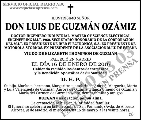 Luis de Guzmán Ozámiz